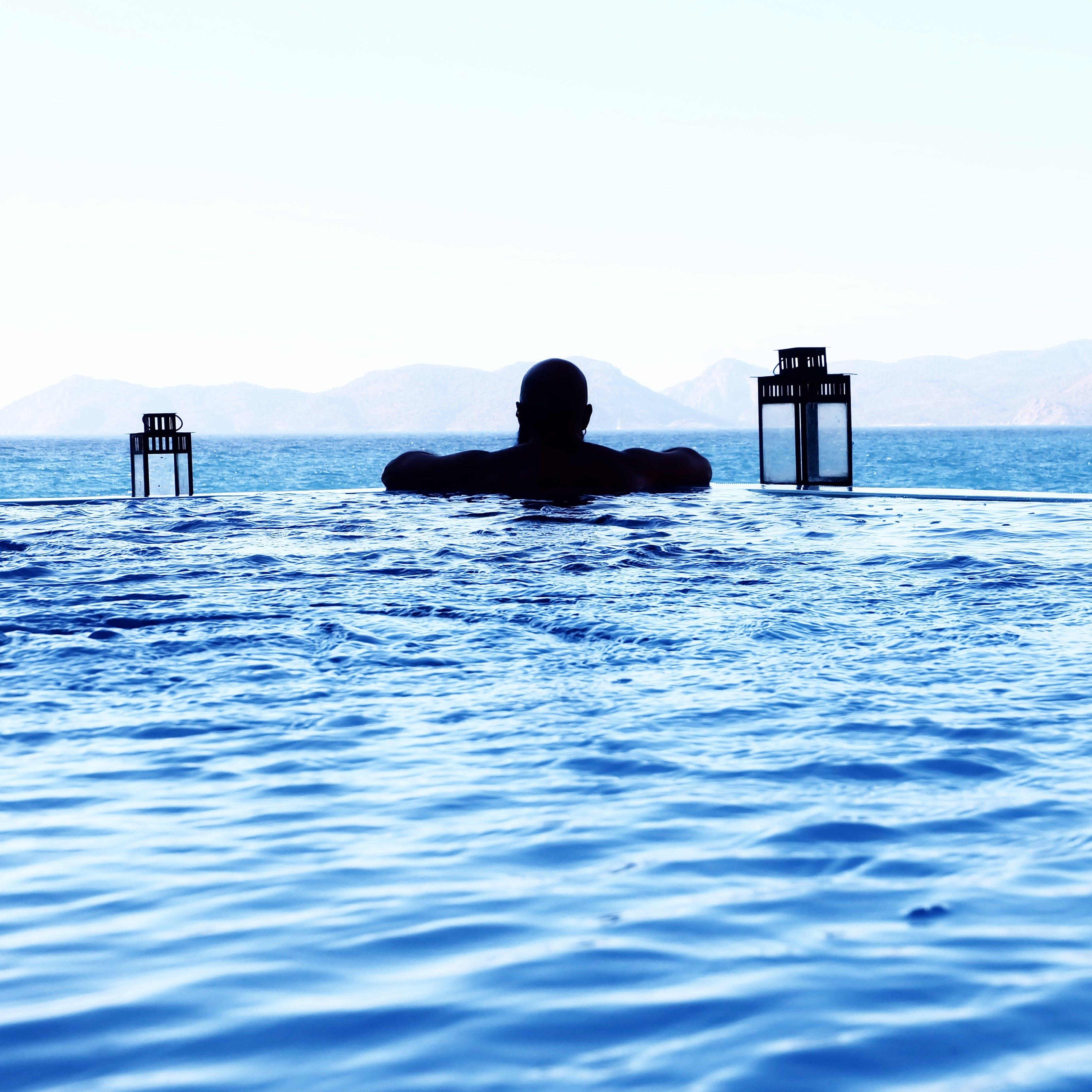 Free stock photo of sea, man, person, beach