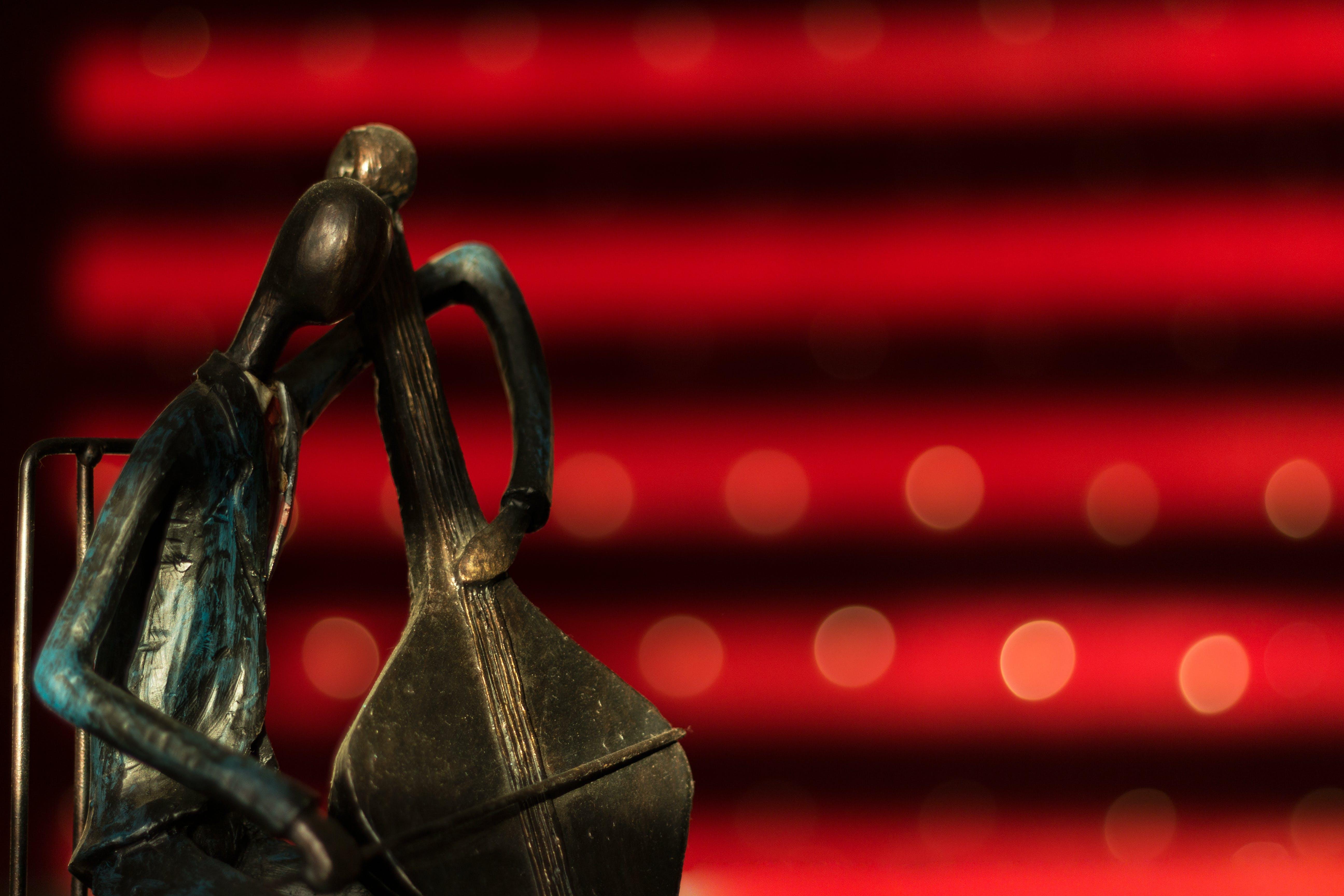 Free stock photo of bokeh, bronze, figurine, gold