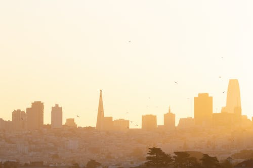 Free stock photo of california, city, early morning, golden hour