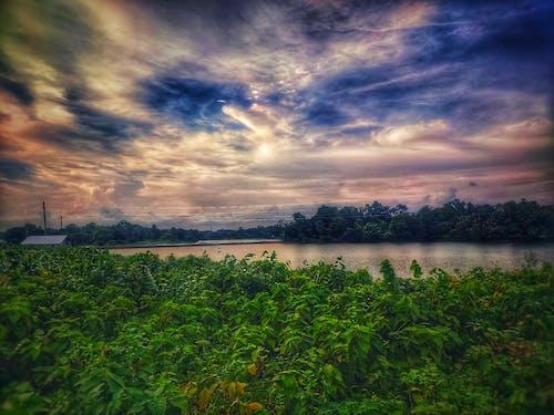 Základová fotografie zdarma na téma horská vesnice, krásná krajina, krásná obloha, modrá obloha