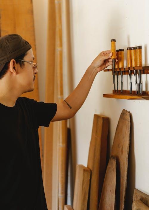Foto profissional grátis de aparelhos, artesanal, artesão, atividade