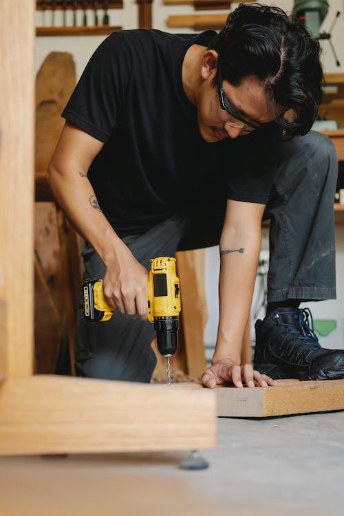 ~을 사용하여, DIY, 건설, 고치다의 무료 스톡 사진