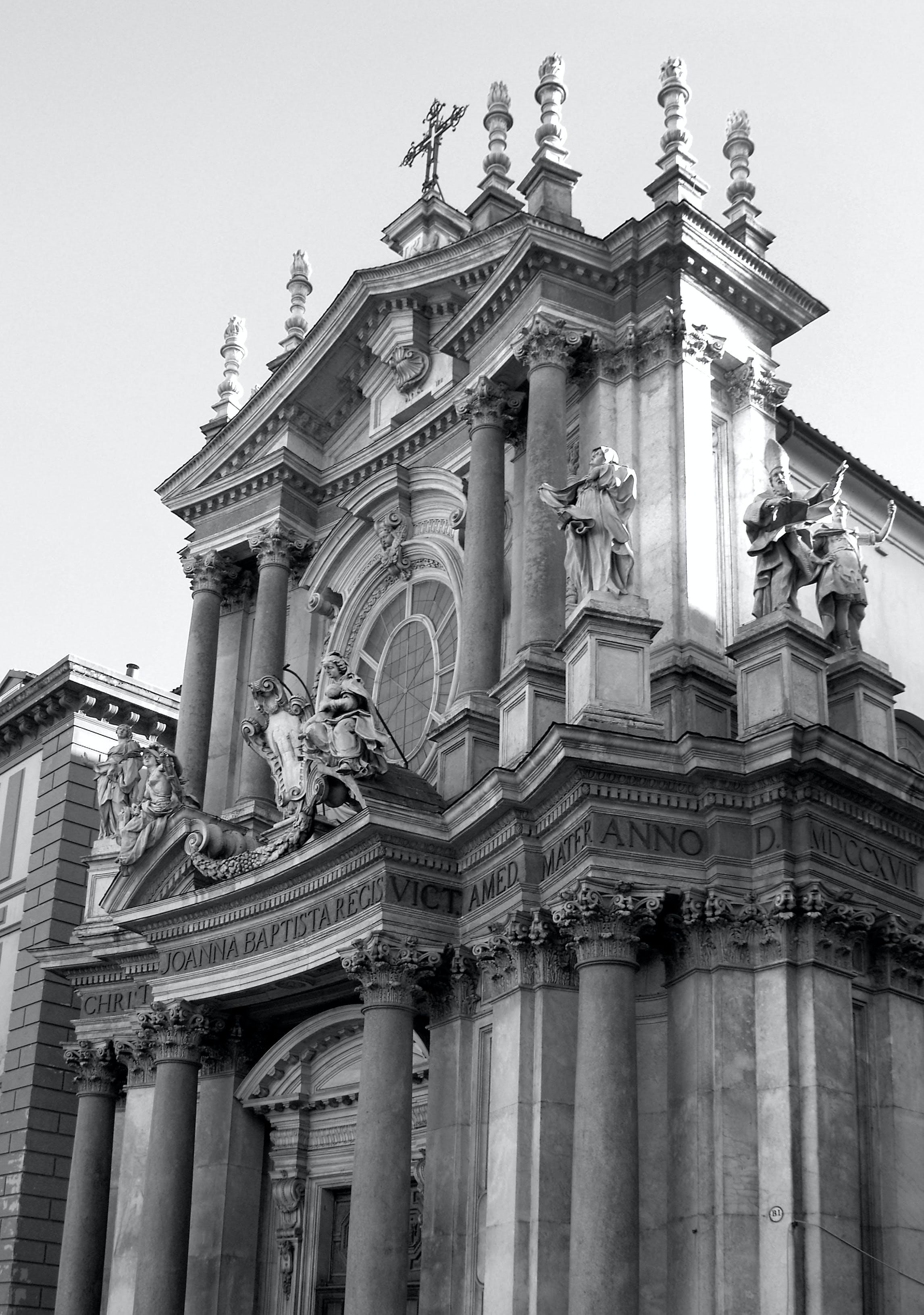 Ingyenes stockfotó chiesa, emlékmű, fekete-fehér, itlaia témában