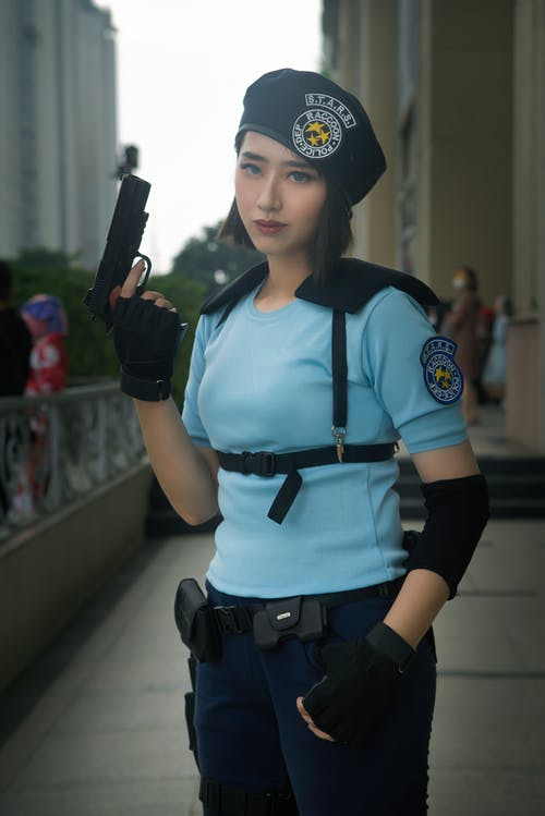 Free stock photo of cosplay, jill valentine, resident evil
