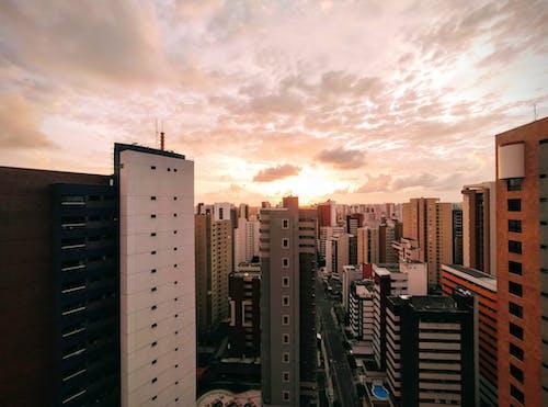 Бесплатное стоковое фото с архитектура, бизнес, большой город, вид на город