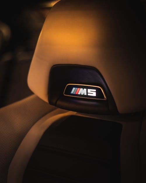 Convenient soft seat of expensive car