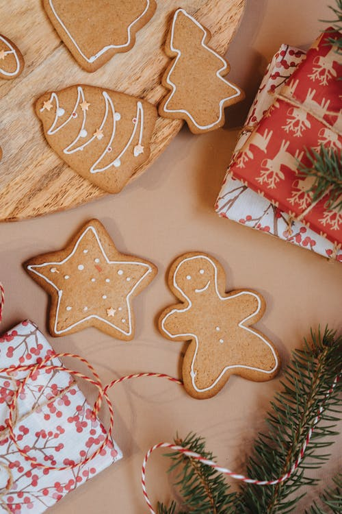 Free stock photo of advent, baking, card, celebration