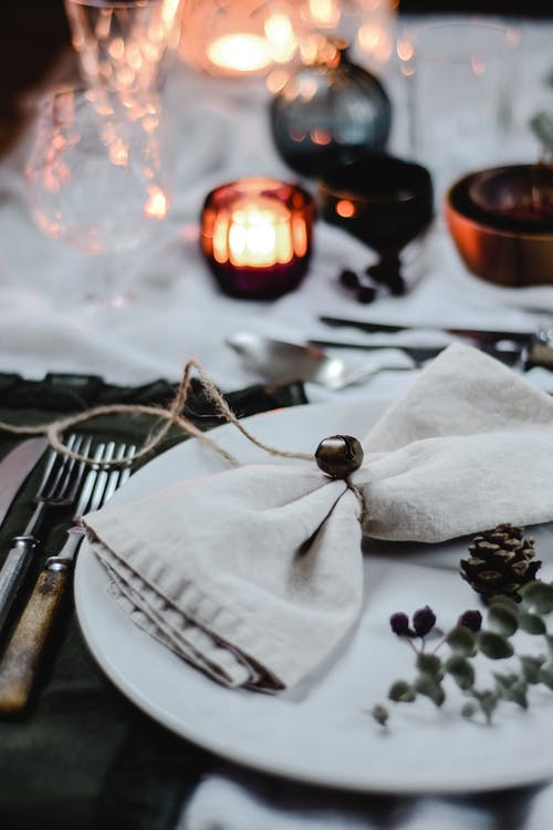 Close Up Photo Of Table Setting