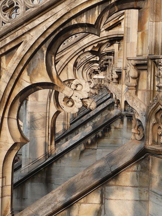 Free stock photo of architecture, duomo, milan