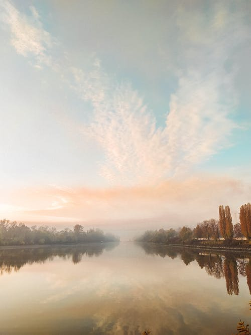 Free stock photo of danube, early sunrise, morning