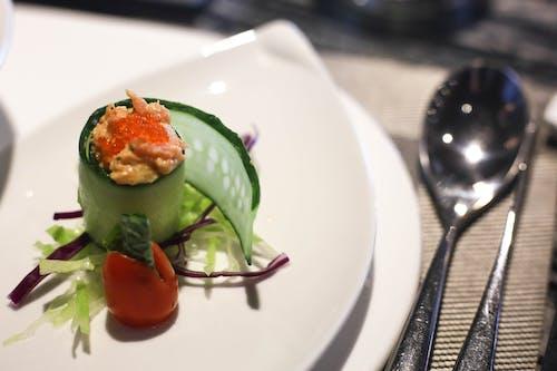Immagine gratuita di Asiatico, cena, cetrioli, cibo