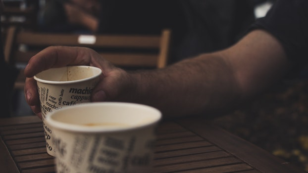 Free stock photo of caffeine, coffee, hand, cappuccino