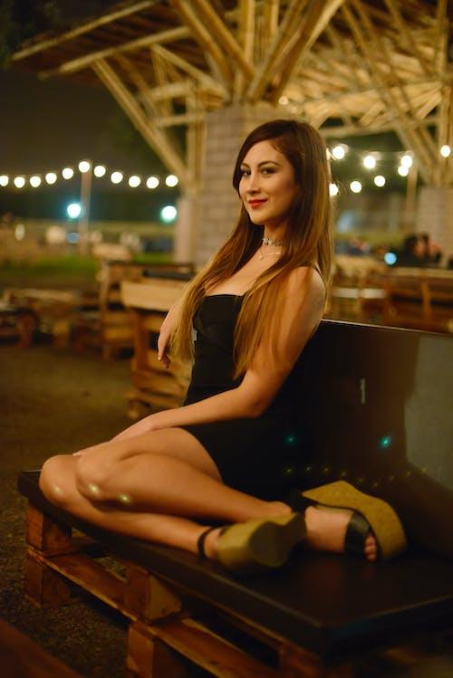 Безкоштовне стокове фото на тему «linda, vestido negro, Дівчина, мексиканець»