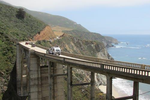 Free stock photo of california, cliffside, ocean