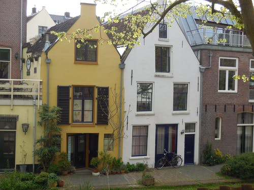 Free stock photo of colorful houses, europe, row house