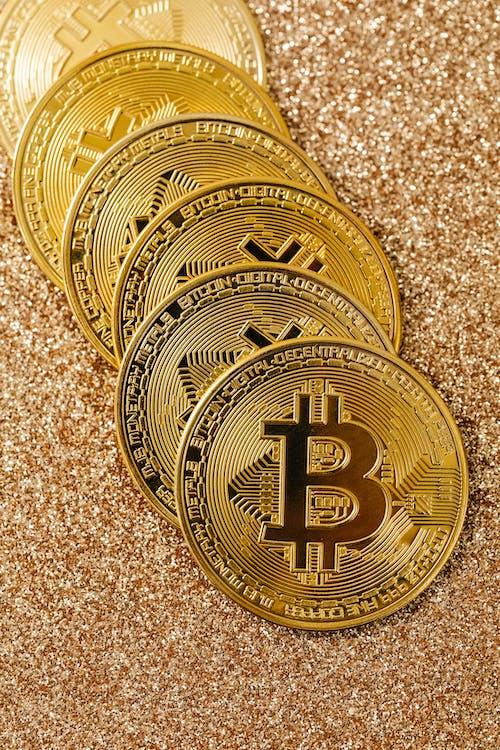 お金, ゴールド, シンボル, デジタル資産の無料の写真素材