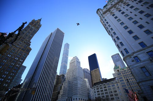 Free stock photo of new york, nyc, skyscrapers