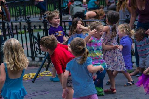 Free stock photo of children playing