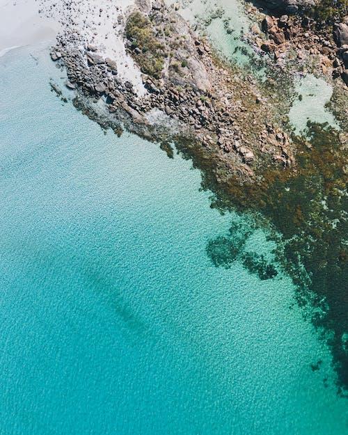Tropische Insel Des Azurblauen Wassers