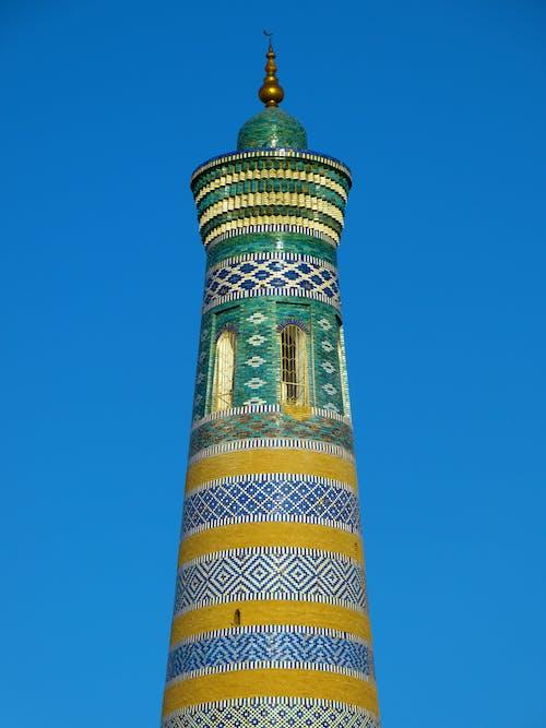 Foto profissional grátis de arquitetura, contemporâneo, histórico, islam khoja minarete