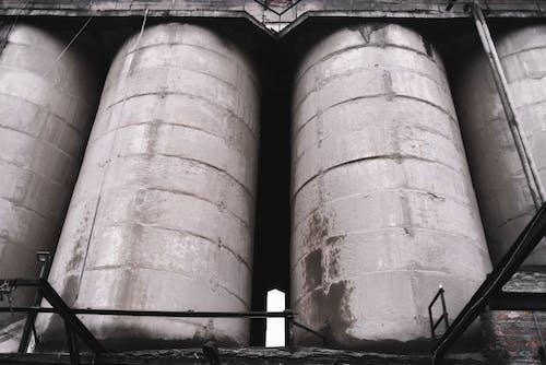 Imagine de stoc gratuită din abandonat, arhitectură, benzină, beton