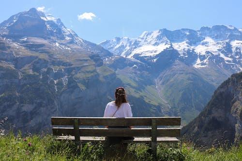 Ilmainen kuvapankkikuva tunnisteilla Alpit, huippu, ihmiset