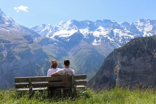 Ilmainen kuvapankkikuva tunnisteilla Alpit, ihmiset, jyrkänne