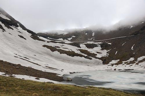 Ilmainen kuvapankkikuva tunnisteilla Alpit, jäätynyt järvi, järvi