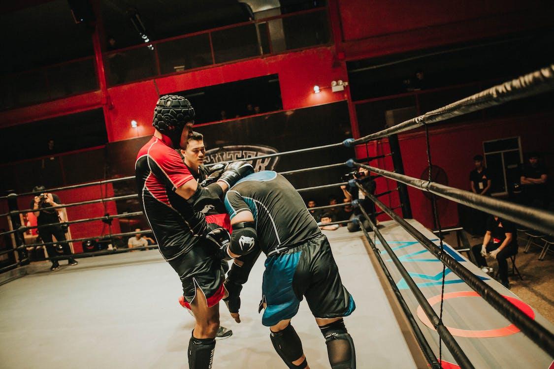 akcja, bitwa, boks