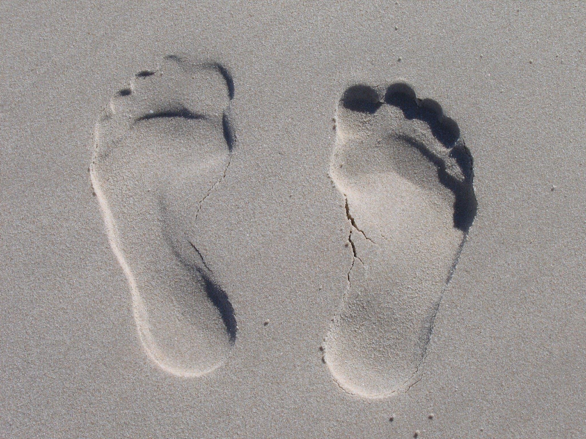 Sand Foot Prints