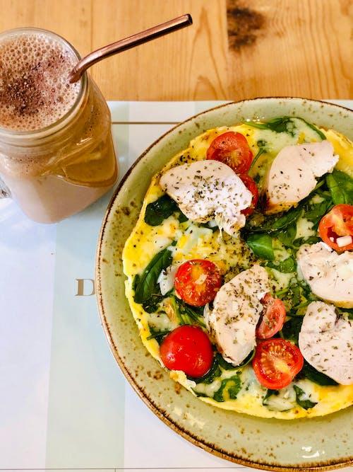 Kostnadsfri bild av äta nyttigt, äta sunt, bröd, frukost