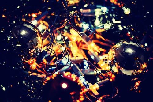 Immagine gratuita di brillare, decorazione natalizia, illuminato, luci di natale