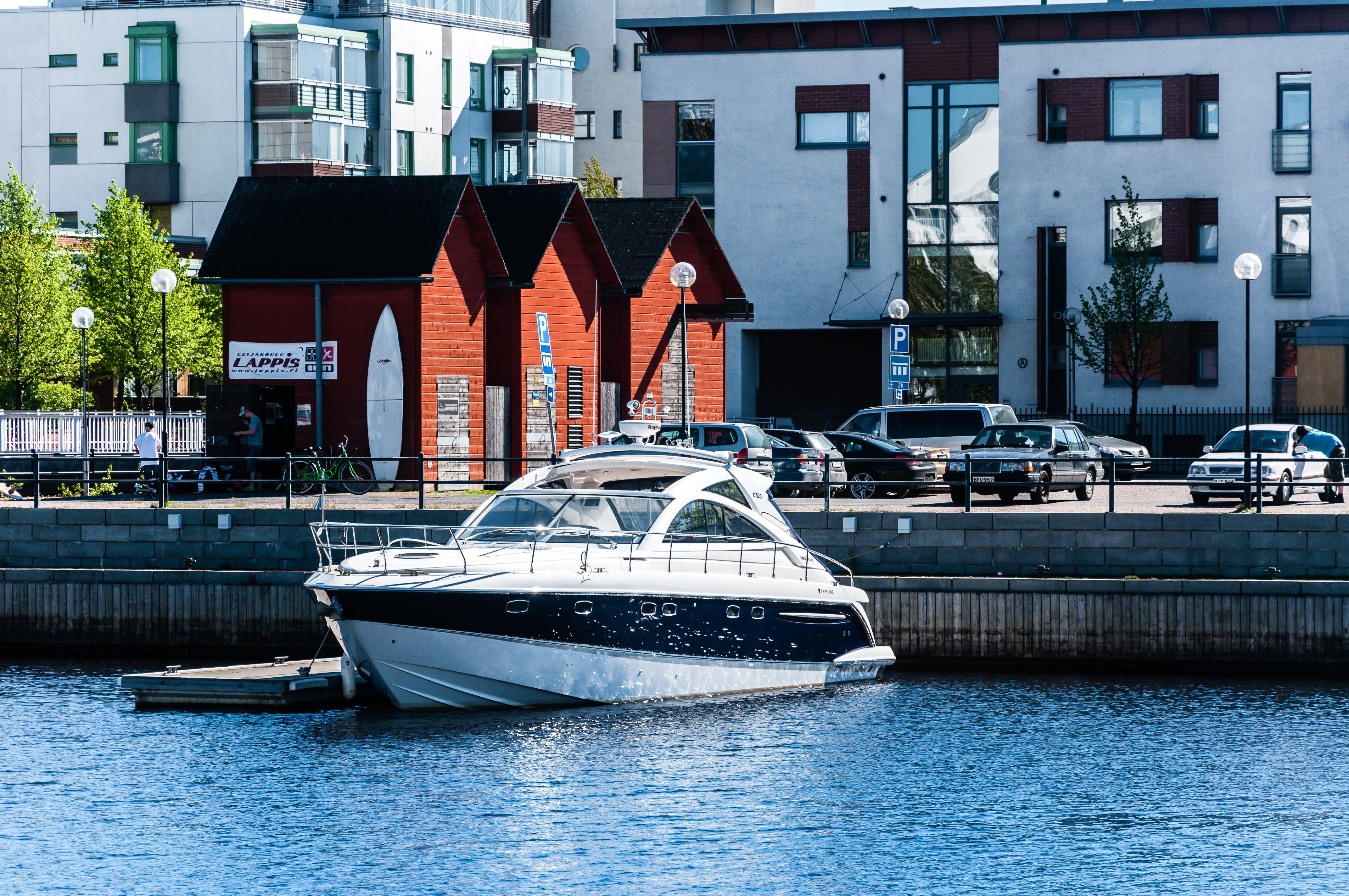 Gratis lagerfoto af havn