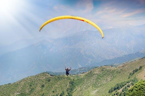 Free stock photo of adventure, paragliding, sky, sport