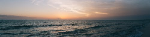 全景, 地平線, 岸邊, 招手 的 免費圖庫相片