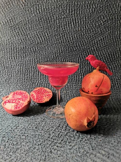 Free stock photo of blurred background, food, fruit juice, promogranate juice