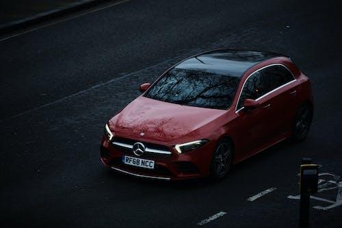 Free stock photo of luxury car, mercedes benz, monochrome photography