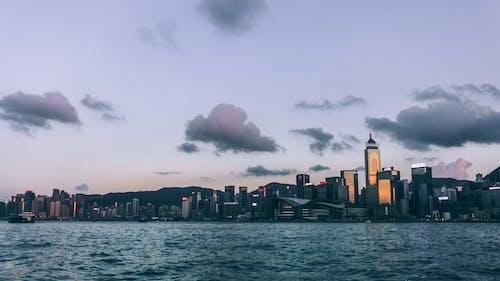 คลังภาพถ่ายฟรี ของ ชั่วโมงทอง, ที่ริมทะเล, อ่าว