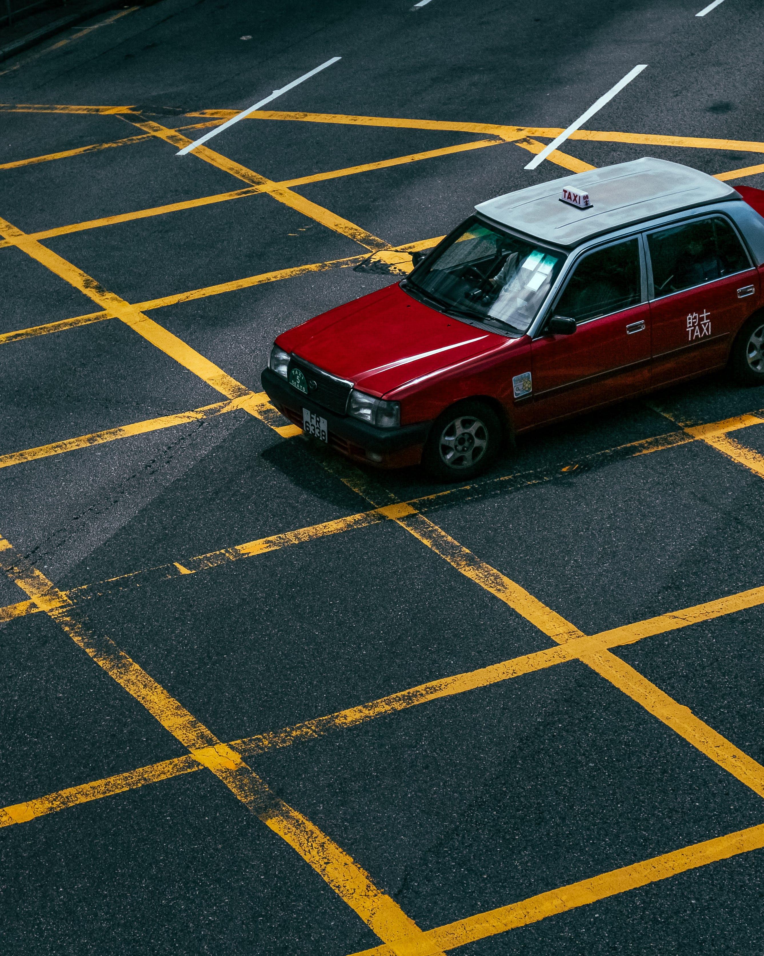 Free stock photo of taxi, urban