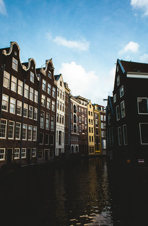 Gratis stockfoto met accommodatie, Amsterdam, aqua