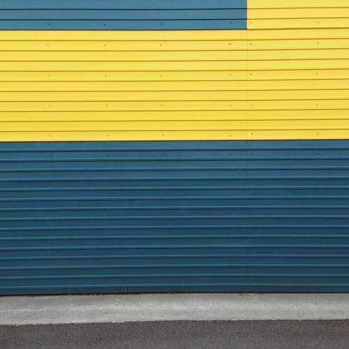 Free stock photo of abstract background, blue, corrugated background