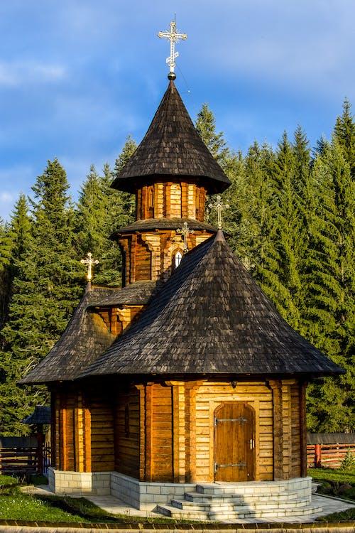Photos gratuites de architecture, bâtiment, chapelle, croix
