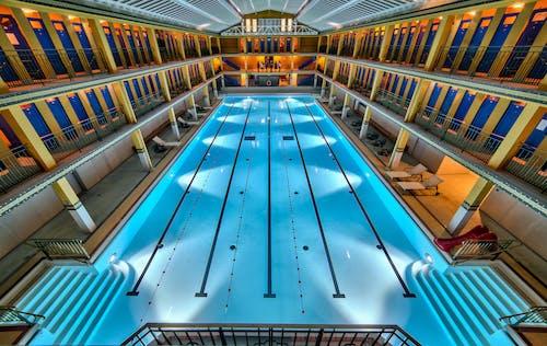 Gratis arkivbilde med art deco, svømmebasseng