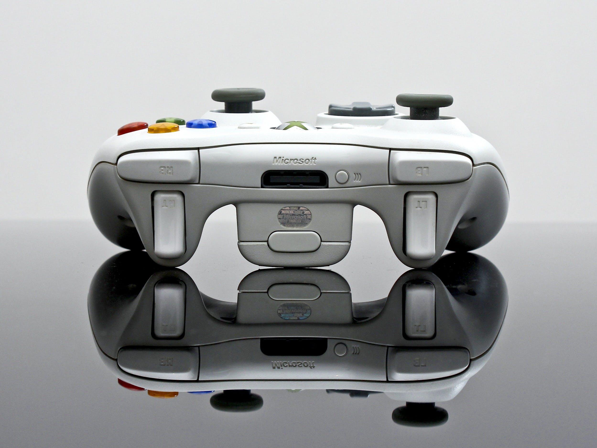 คลังภาพถ่ายฟรี ของ Xbox, การสะท้อน, การเล่นเกม, คอนโทรลเลอร์