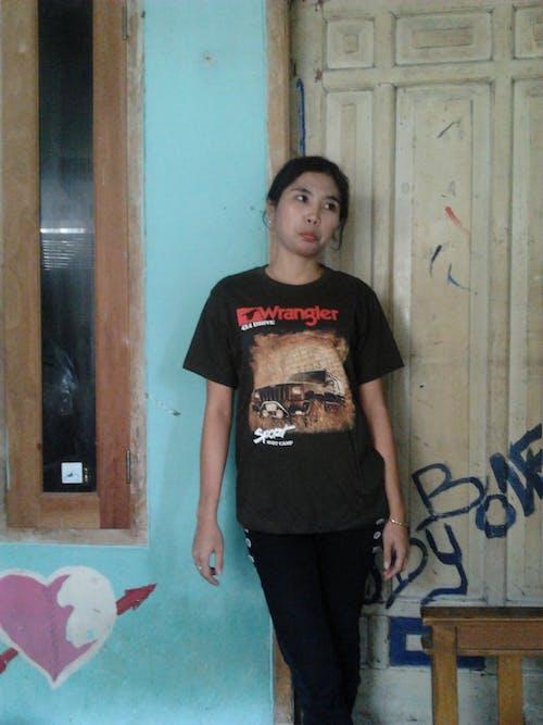 Free stock photo of fashion, girl, kaos, kidzgn
