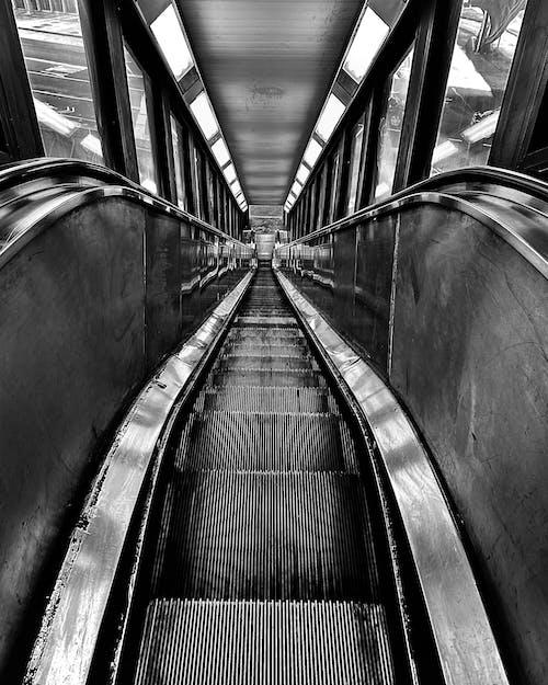 Free stock photo of 1 train, 125st, flight of stairs