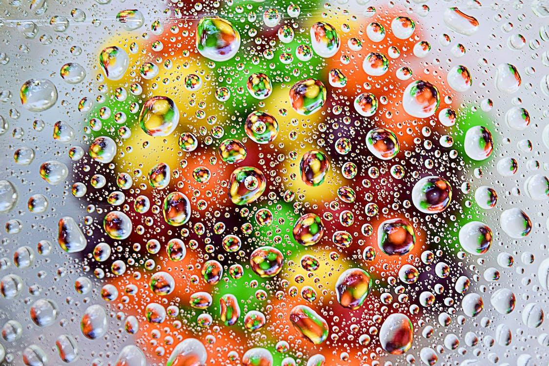 barva, barvy, bublina