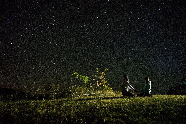 Free stock photo of sky, love, lights, night