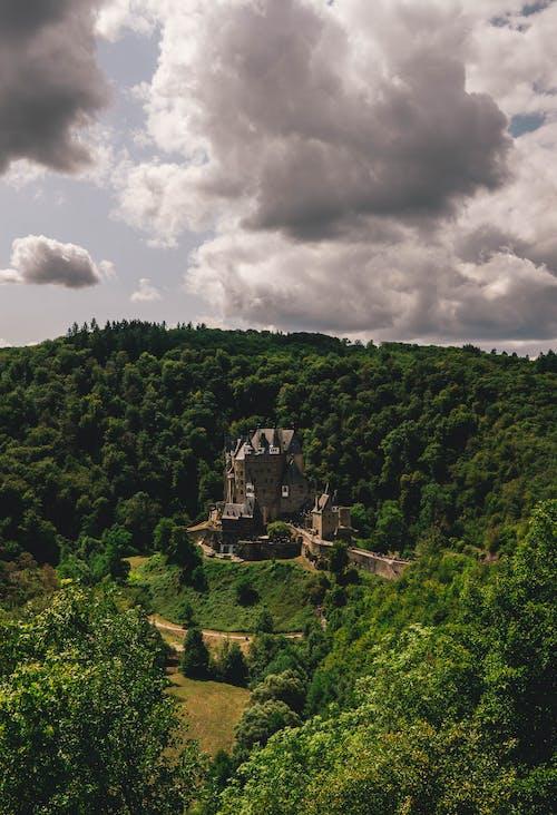An Aerial Shot of the Eltz Castle