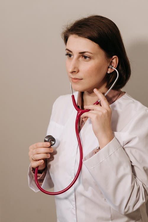 คลังภาพถ่ายฟรี ของ คุณหมอ, ผู้หญิง, ยิงแนวตั้ง